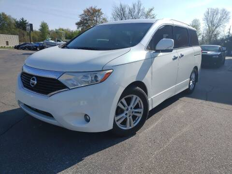 2013 Nissan Quest for sale at Cruisin' Auto Sales in Madison IN
