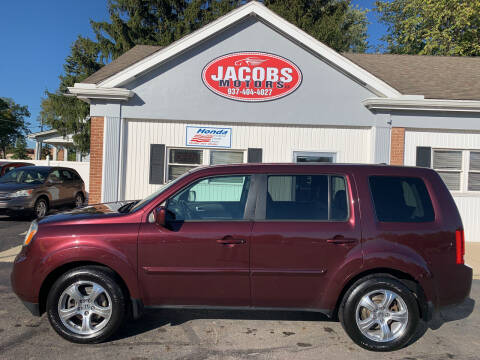 2015 Honda Pilot for sale at Jacobs Motors LLC in Bellefontaine OH