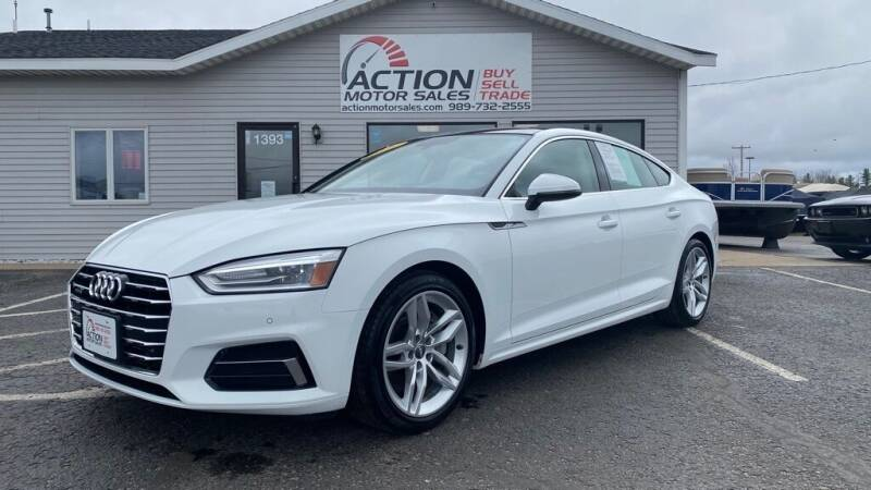 2019 Audi A5 Sportback for sale at Action Motor Sales in Gaylord MI