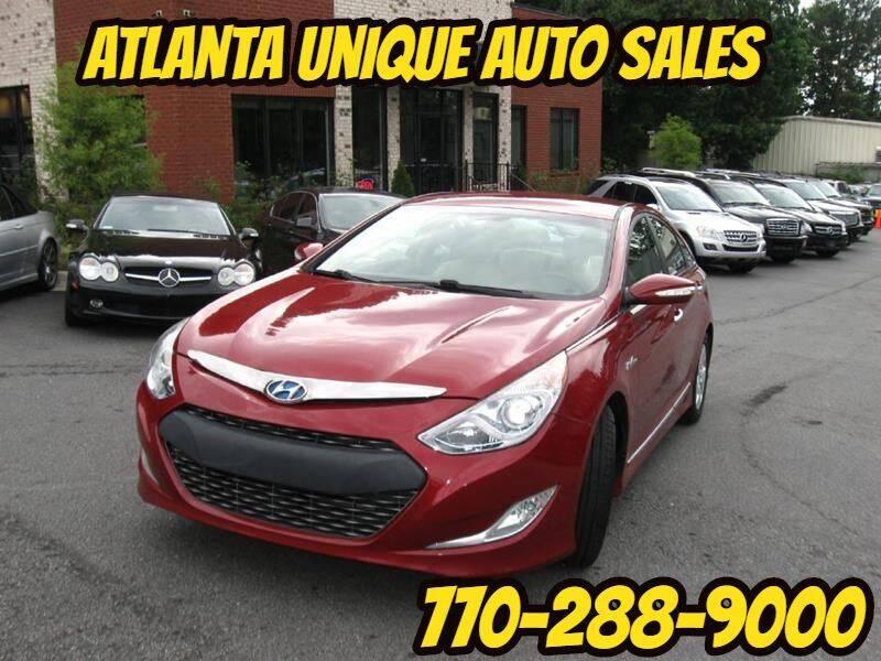 2011 Hyundai Sonata Hybrid for sale at Atlanta Unique Auto Sales in Norcross GA