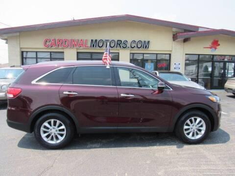 2017 Kia Sorento for sale at Cardinal Motors in Fairfield OH