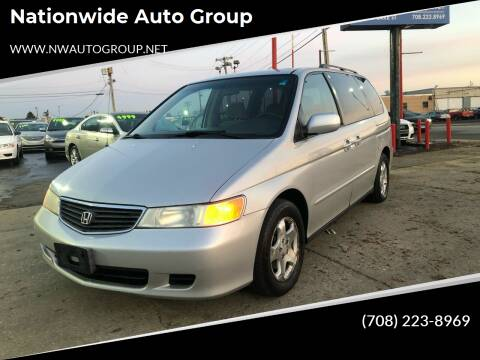 2001 Honda Odyssey for sale at Nationwide Auto Group in Melrose Park IL