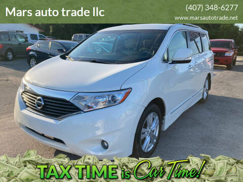 2011 Nissan Quest for sale at Mars auto trade llc in Kissimmee FL