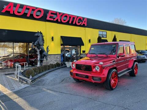 2015 Mercedes-Benz G-Class for sale at Auto Exotica in Red Bank NJ