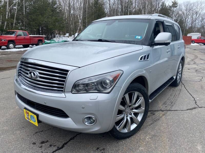 2014 Infiniti QX80 for sale at Granite Auto Sales in Spofford NH