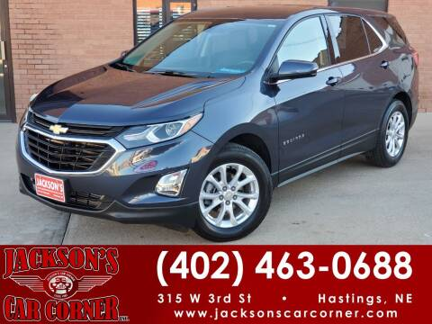 2018 Chevrolet Equinox for sale at Jacksons Car Corner Inc in Hastings NE