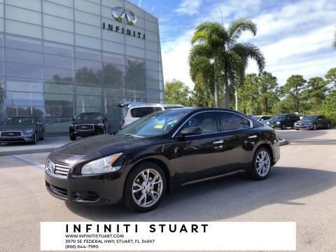 2014 Nissan Maxima for sale at Infiniti Stuart in Stuart FL