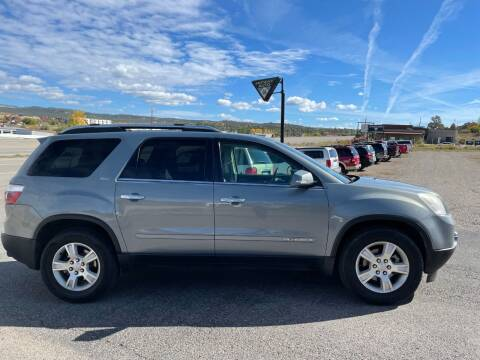 2008 GMC Acadia for sale at Skyway Auto INC in Durango CO