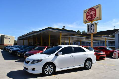 2010 Toyota Corolla for sale at Houston Used Auto Sales in Houston TX