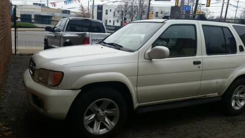 2002 Nissan Pathfinder for sale at 216 Automotive Group in Cleveland OH