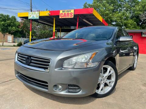 2014 Nissan Maxima for sale at Cash Car Outlet in Mckinney TX