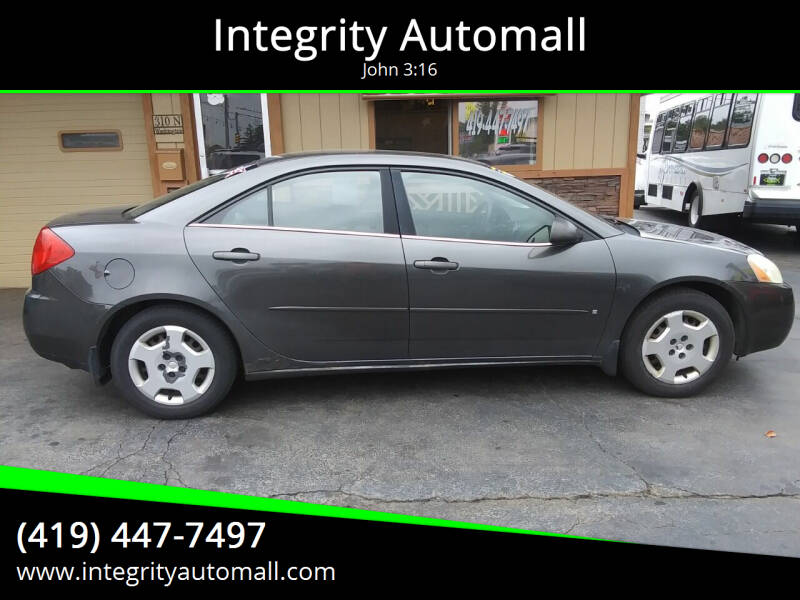 2007 Pontiac G6 for sale at Integrity Automall in Tiffin OH