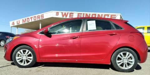 2014 Hyundai Elantra GT for sale at 4 U MOTORS in El Paso TX