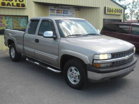 2000 Chevrolet Silverado 1500 for sale at Mr. G's Auto Sales in Shelbyville TN