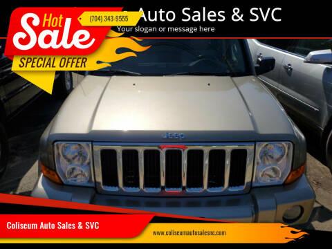 2006 Jeep Commander for sale at Coliseum Auto Sales & SVC in Charlotte NC