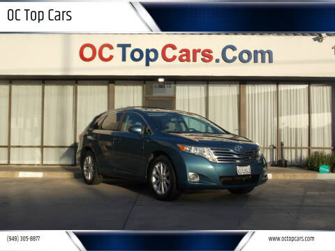 2011 Toyota Venza for sale at OC Top Cars in Irvine CA