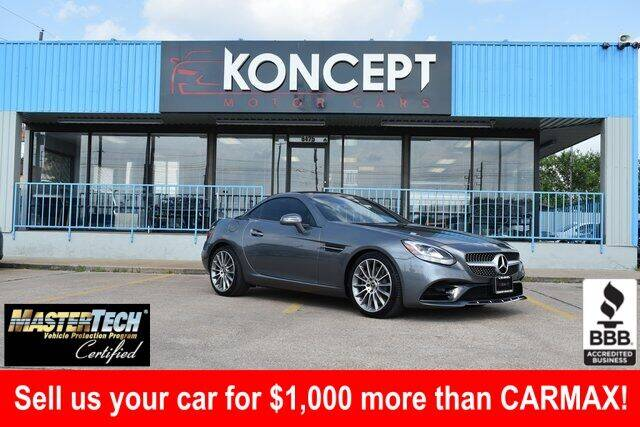 2020 Mercedes-Benz SLC for sale in Houston, TX