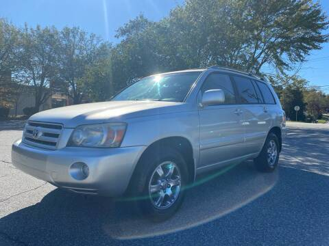 2005 Toyota Highlander for sale at Triple A's Motors in Greensboro NC
