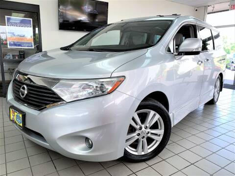 2012 Nissan Quest for sale at SAINT CHARLES MOTORCARS in Saint Charles IL