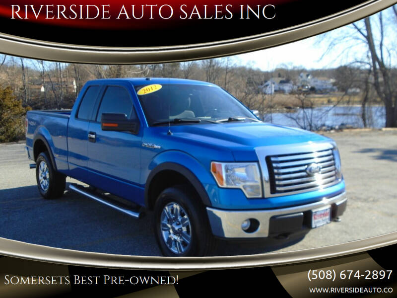 2012 Ford F-150 for sale at RIVERSIDE AUTO SALES INC in Somerset MA