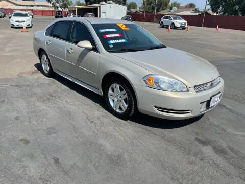 2012 Chevrolet Impala for sale at Mega Motors Inc. in Stockton CA