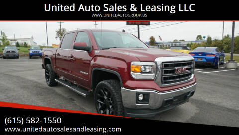 2014 GMC Sierra 1500 for sale at United Auto Sales & Leasing LLC in La Vergne TN