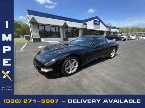 2004 Chevrolet Corvette for sale at Impex Auto Sales in Greensboro NC