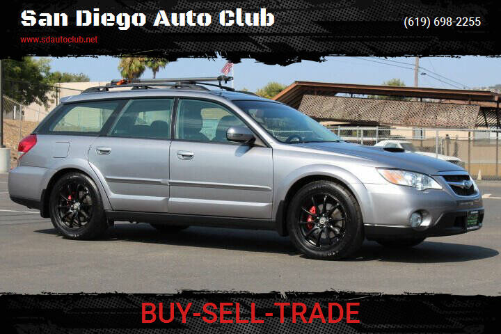 2008 Subaru Outback for sale at San Diego Auto Club in Spring Valley CA