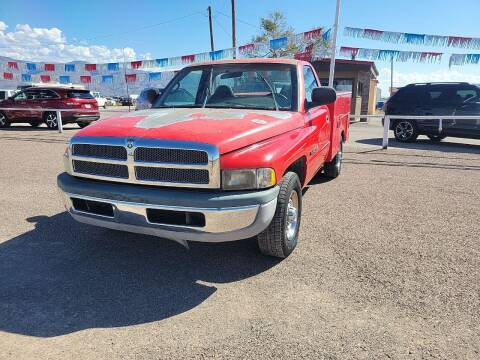 1998 Dodge Ram Chassis 2500 for sale at Bickham Used Cars in Alamogordo NM