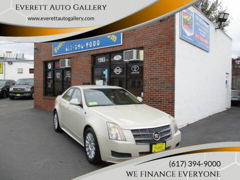 2010 Cadillac CTS for sale at Everett Auto Gallery in Everett MA