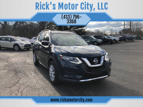 2016 Nissan Rogue for sale at Rick's Motor City, LLC in Springfield MA