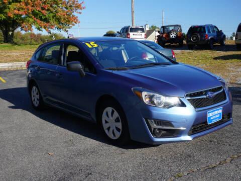 2015 Subaru Impreza for sale at Crestwood Auto Sales in Swansea MA