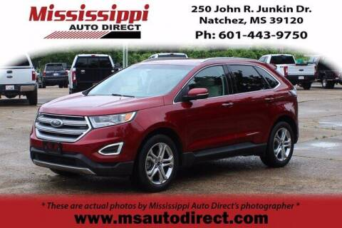 2016 Ford Edge for sale at Auto Group South - Mississippi Auto Direct in Natchez MS