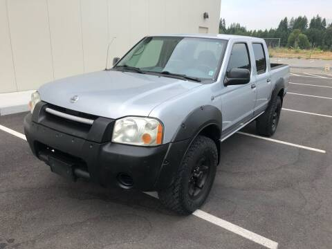 2002 Nissan Frontier for sale at Washington Auto Sales in Tacoma WA