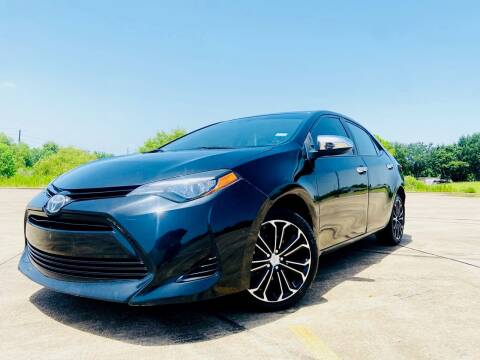 2017 Toyota Corolla for sale at AUTO DIRECT Bellaire in Houston TX