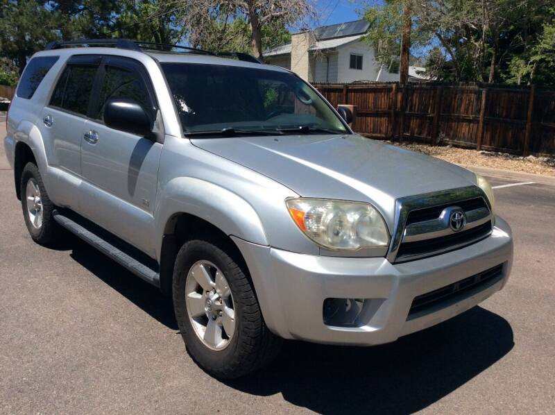 2006 Toyota 4Runner for sale at AROUND THE WORLD AUTO SALES in Denver CO