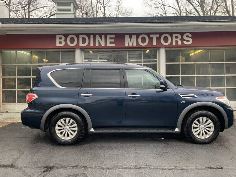 2018 Nissan Armada for sale at BODINE MOTORS in Waverly NY