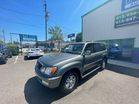 1999 Lexus LX 470 for sale at Bay City Autosales in Tampa FL
