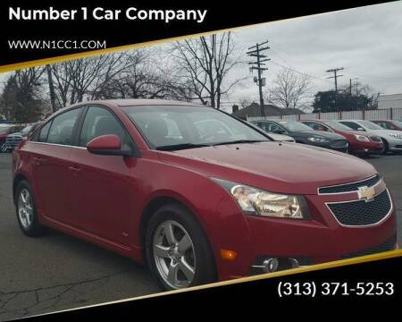 2013 Chevrolet Cruze for sale at Number 1 Car Company in Detroit MI