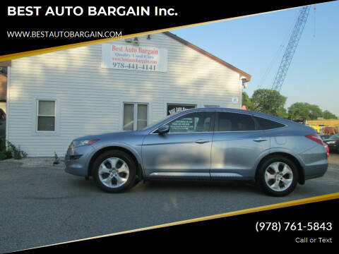 2011 Honda Accord Crosstour for sale at BEST AUTO BARGAIN inc. in Lowell MA
