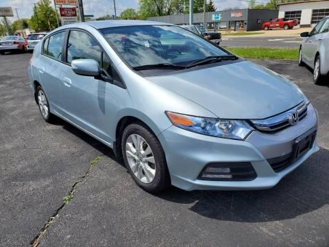 2012 Honda Insight for sale at Prospect Auto Mart in Peoria IL