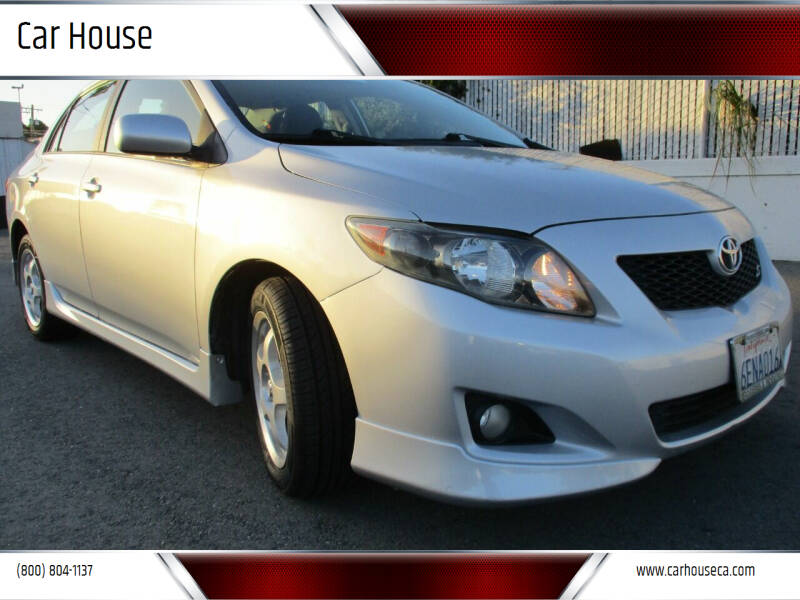 2009 Toyota Corolla for sale at Car House in San Mateo CA