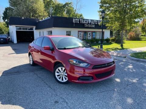 2014 Dodge Dart for sale at Rite Track Auto Sales in Canton MI