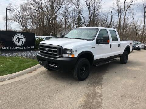 2001 Ford F-250 Super Duty for sale at Station 45 Auto Sales Inc in Allendale MI