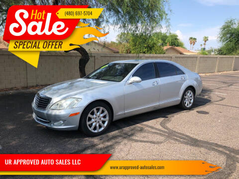 2007 Mercedes-Benz S-Class for sale at UR APPROVED AUTO SALES LLC in Tempe AZ