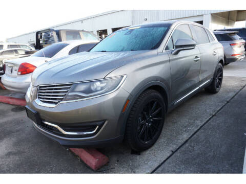 2017 Lincoln MKX for sale at BAYWAY Certified Pre-Owned in Houston TX