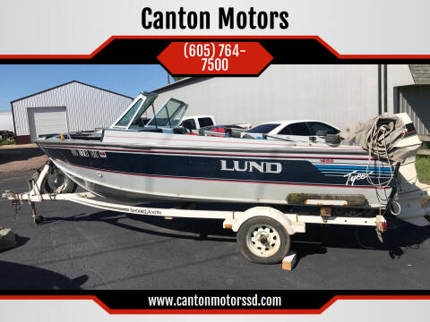 1990 Lund 1650 Tyee for sale at Canton Motors in Canton SD