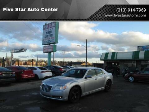 2012 Chrysler 300 for sale at Five Star Auto Center in Detroit MI