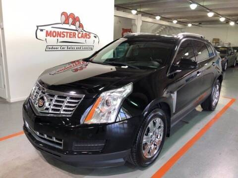 2015 Cadillac SRX for sale at Monster Cars in Pompano Beach FL