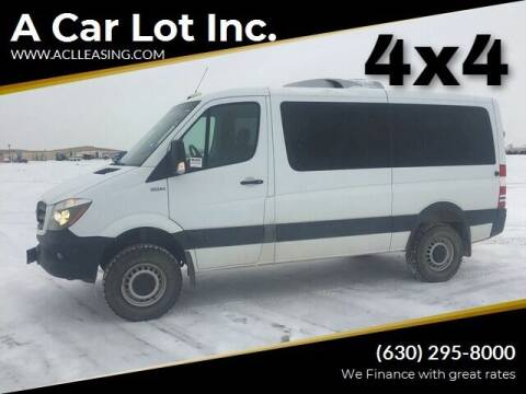 2017 Mercedes-Benz Sprinter Passenger for sale at A Car Lot Inc. in Addison IL